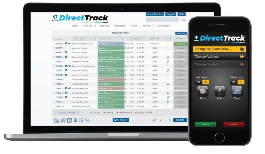 DirectTrack technology