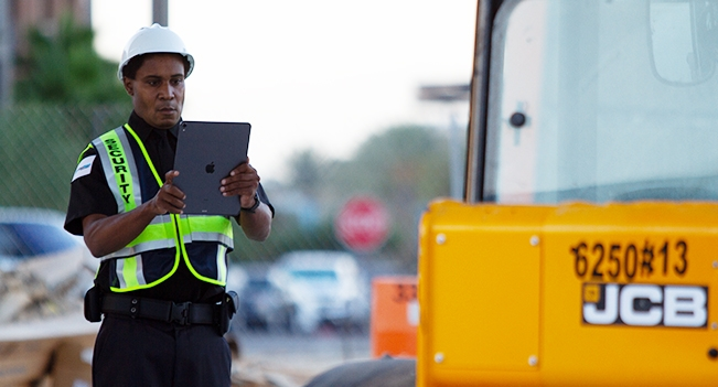 Construction Sites Security Guard Services in California